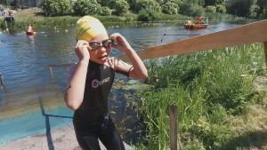 Wpław i biegiem czyli VI Mistrzostwa Braniewa w Aquathlonie