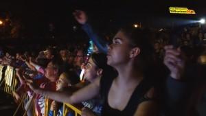 Publiczność śpiewała z artystką