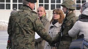 Przysięga żołnierzy służby przygotowawczej 9 BBKPanc.