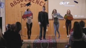 Absolwenci technikum pożegnali szkołę. Przed nimi egzamin dojrzałości…