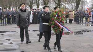 Braniewo: Rosyjscy oficjele i motocykliści uczcili pamięć czerwonoarmistów…