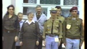 Harcerski start - Frombork 1993 r.