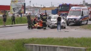 Groźny wypadek na Królewieckiej w Braniewie. Cztery osoby trafiły do…