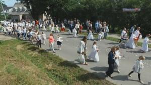 Braniewo: Wierni przeszli w procesji Bożego Ciała - 15.06.2017