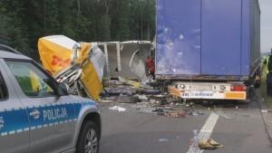 Kierowca fiata cudem uniknął smierci
