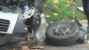 Zdarzenie drogowe we Fromborku. 23-latek stracił prawo jazdy