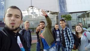 Uczniowie ZSZ na zagranicznych stażach