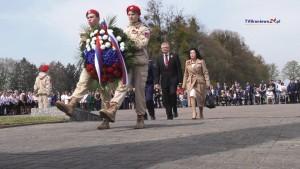 Rosjanie oddali hołd czerwonoarmistom pochowanym na cmentarzu wojennym…