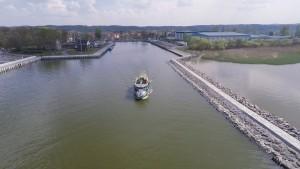 Tramwajem wodnym z Tolkmicka do Krynicy Morskiej