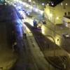 Braniewo: pożar magazynu sklepowego przy ul. Kościuszki