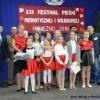 Śpiewali z okazji Święta Niepodległości. XXI Festiwal Pieśni Patriotycznej i Wojskowej w Pieniężnie