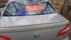 Policyjny pościg ulicami Braniewa