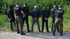 10 osób próbowało przekroczyć zieloną granicę z Federacją Rosyjską