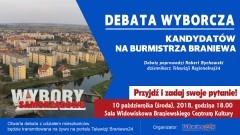 W środę debata kandydatów na burmistrza Braniewa [Aktualizacja]
