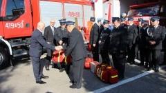 Ochotnicy z Pieniężna mają nowy wóz ratowniczo-gaśniczy
