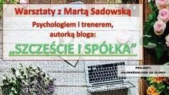 Warsztaty z Martą Sadowską