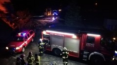 Tragiczny pożar w Gładyszach. Nie żyje jedna osoba