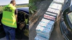 Przewoził ponad 1200 paczek papierosów. Wpadł podczas kontroli drogowej