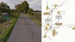 Droga Krzekoty - Lutkowo zamknięta do połowy października