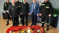 Strażacy z OSP Lelkowo lepiej wyposażeni