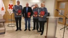 Krwiodawcy z Niebieskiej Kropli odznaczeni medalami