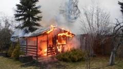 Na terenie ogródków działkowych przy ul. Łąkowej spłonęły trzy…