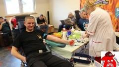 Oddaj krew ze strażakami