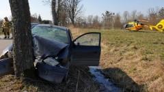 Śmiertelny wypadek w Karwinach. Nie żyje kierowca mitsubishi