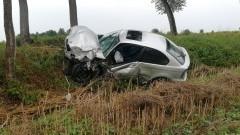 Zderzenie trzech pojazdów. Jedna osoba trafiła do szpitala