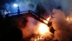 Klejnowo: Pożar balotów słomy. Trwa akcja gaśnicza