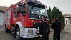 Nowy samochód ratowniczo-gaśniczy dla OSP Płoskinia