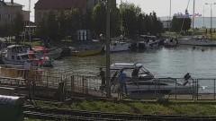 Frombork: O włos od tragedii. Mężczyzna wypadł z jachtu