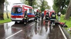 Tragiczny wypadek w pobliżu Mloteczna. Nie żyje 69-letni rowerzysta