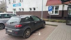 Mistrzowie parkowania - zajął 2 miejsca w tym jedno dla niepełnosprawnych