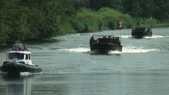 Amerykańskie łodzie patrolowe przepłynęły Pasłęką