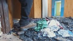 Ławki: Groźny pożar domu. Omal nie doszło do tragedii