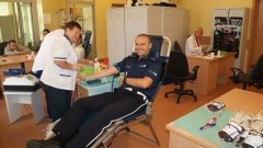 Oddaj krew wspólnie z policjantami