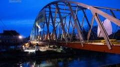 Budowa mostu w Braniewie. Stalowa konstrukcja połączyła oba brzegi…