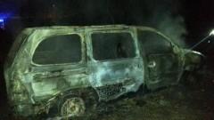 W Żelaznej Górze spłonął samochód