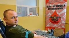 Żołnierze i pracownicy wojska oddali krew