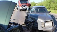 Wypadek na ul. Krolewieckiej. Zderzyły się dwa auta