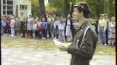 Ze starej płyty - Harcerski start 1993 r. Frombork