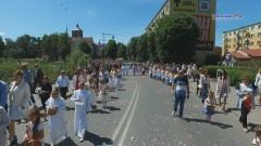 Uroczystości Bożego Ciała w Braniewie. Wierni przeszli ulicami miasta…