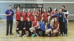 Kadetki Sparty trzecie w ćwierćfinale Mistrzostw Polski
