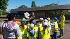 Przedszkolaki poznały historię i zabytki Braniewa