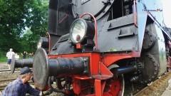 Para buch, koła w ruch... Pociąg retro w Braniewie