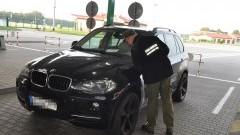 Poszukiwane BMW X5 zatrzymane w Grzechotkach