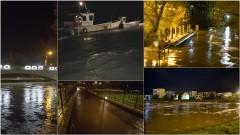Uwaga! Rośnie poziom wody w rzekach i Zalewie Wiślanym [Aktualizacja]