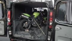 Rosjanin przewoził kradziony motocykl