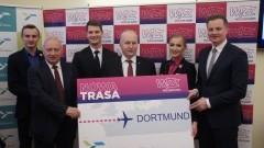 Z Szyman do Dortmundu. Nowe połączenie z Portu Lotniczego Olsztyn-Mazury